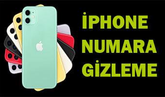 IPHONE-NUMARA-GIZLEME