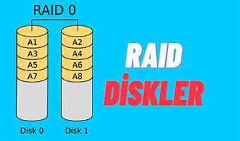 RAID Disk Yapısı Nedir? RAID Disk Çeşitleri Nelerdir?