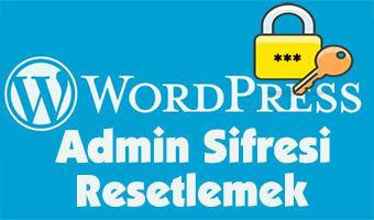 wordpress-admin-sifre-resetlemek