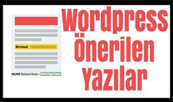wordpress-onerilen-yazilar