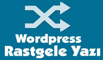 WordPress Eklenti Kullanmadan Rastgele Yazı Göstermek