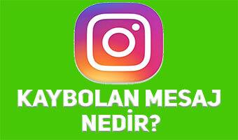 Instagram Kaybolan Mesaj Nasıl Gönderilir?